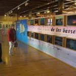 Detall de l'exposició de la Casa de Fusta