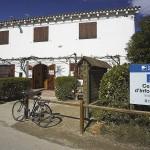 Façana de l'Ecomuseu, centre d'informació del Parc